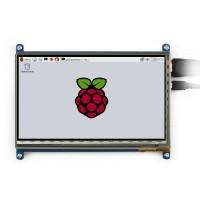 7 inch TFT-LCD Display 1024*600 pixels met Touchscreen - Raspberry Pi Compatible