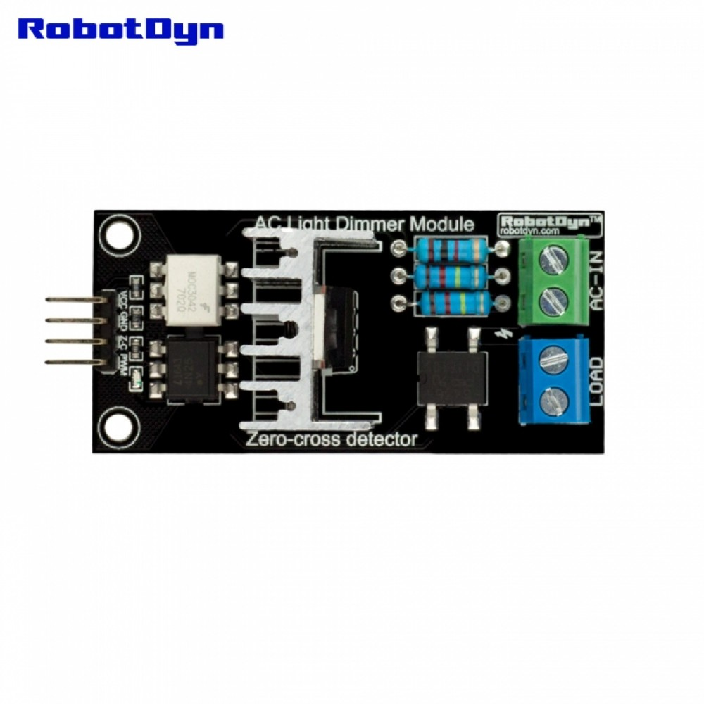 Robotdyn Thyristor Ac Dimmer 33 5v Rdaclightdimmer Arduino 110v Power Controller Circuit