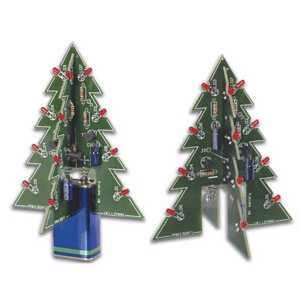 3D Kerstboom Soldeerkit