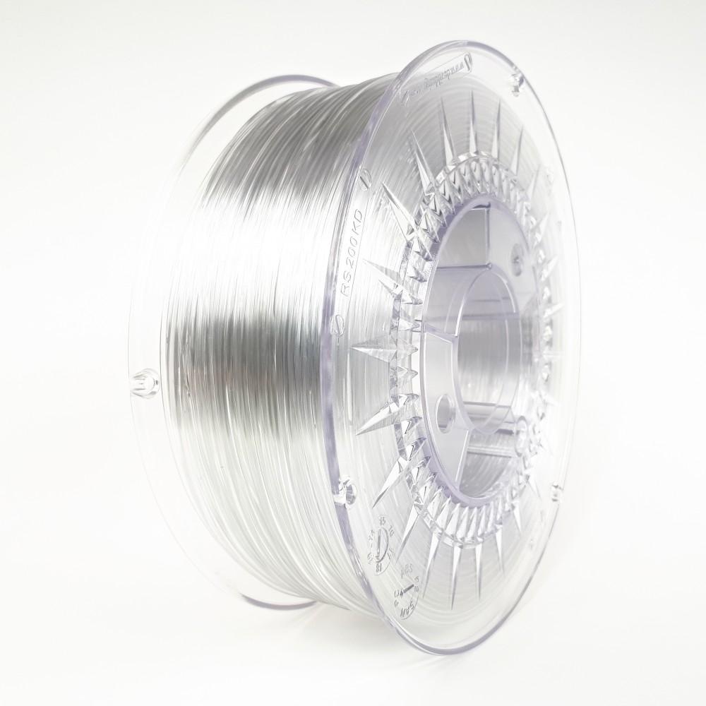 Devil Design PETG Filament 1.75mm - 1kg - Transparent