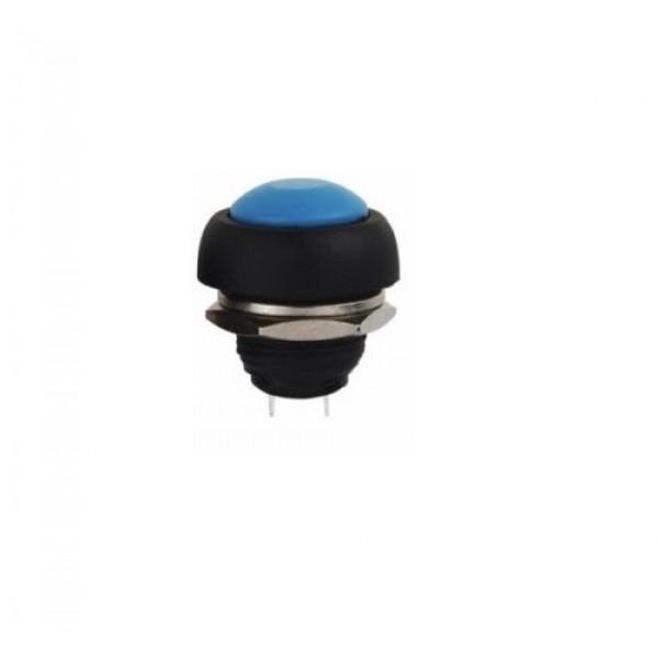 Blue Push button 12mm - Reset - PBS-33B