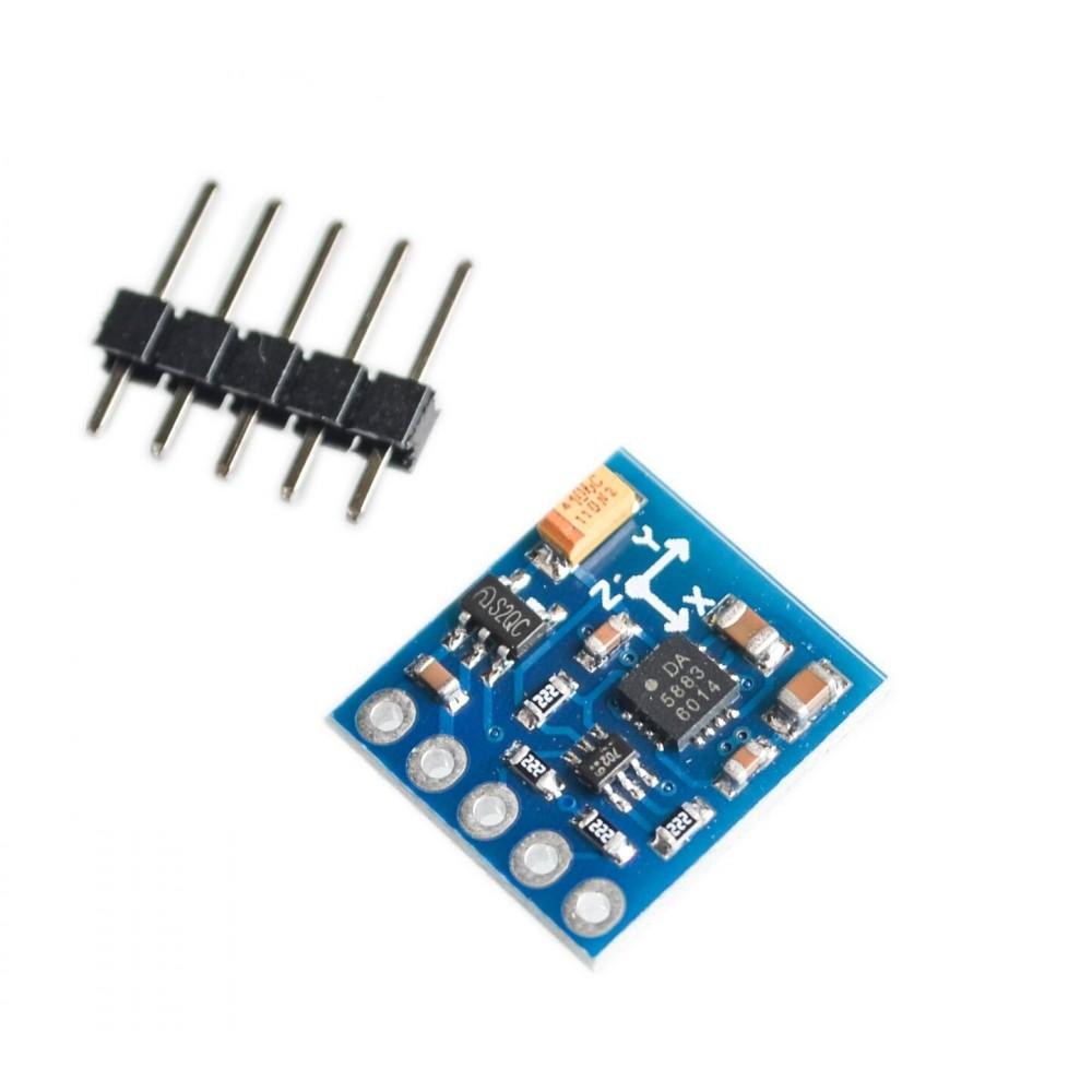 QMC5883L 3-Axis Compas Magnetometer Sensor Module 3V-5V