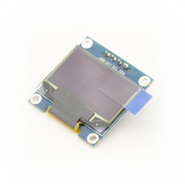 0.96 inch OLED Display 128*64 pixels blue-yellow - I2C