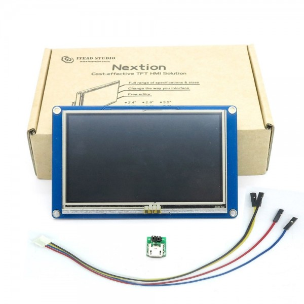 Nextion HMI Display 4.3 Inch 480x272 with Touchscreen