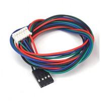 Kabel voor Stappenmotor - DuPont 4p naar JST-PH 6p Compatible - 100cm