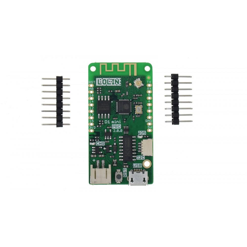 Wemos LOLIN D1 Mini Pro V2 - ESP8266 - CH340C