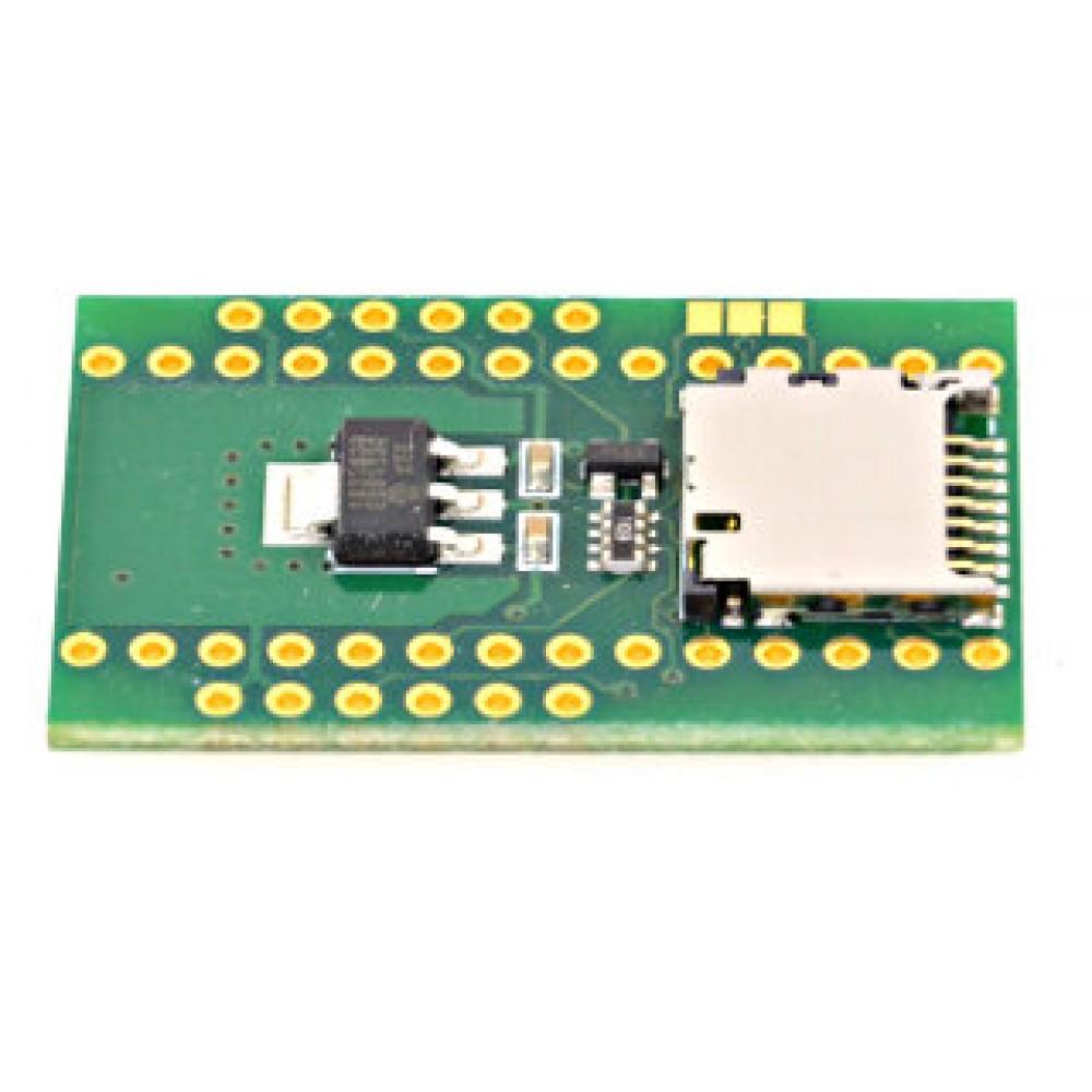 Teensy WIZ820io en Micro SD kaart Adapter Board
