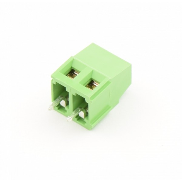 2 Pin Schroef Terminal Block Connector 5.08mm Afstand