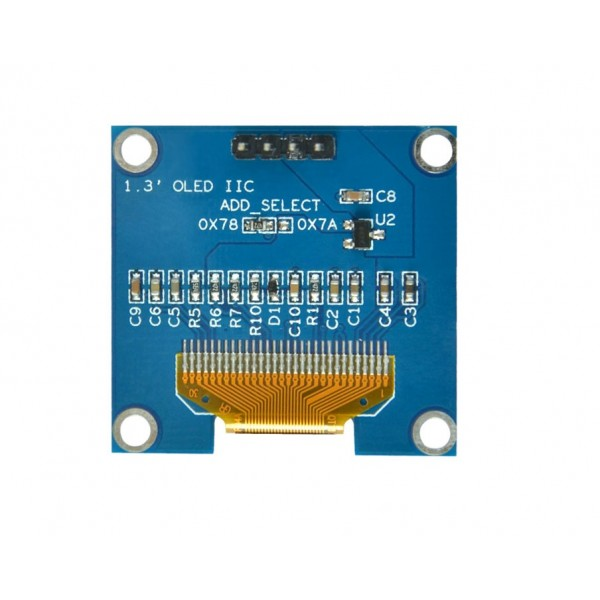 1.3 inch OLED Display 128*64 pixels wit - I2C