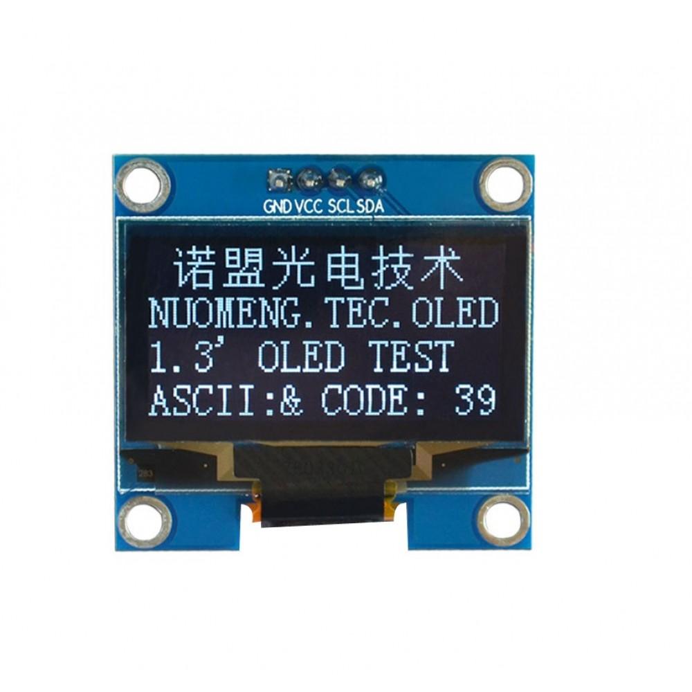 1 3 inch OLED Display 128*64 pixels white - I2C - I2C0 96OLEDWHITE
