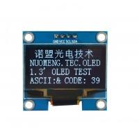 1.3 inch OLED Display 128*64 pixels white - I2C