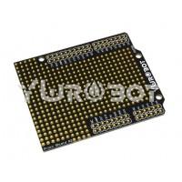 YwRobot Proto Experimenteer-printplaat - voor Arduino Uno - Zwart