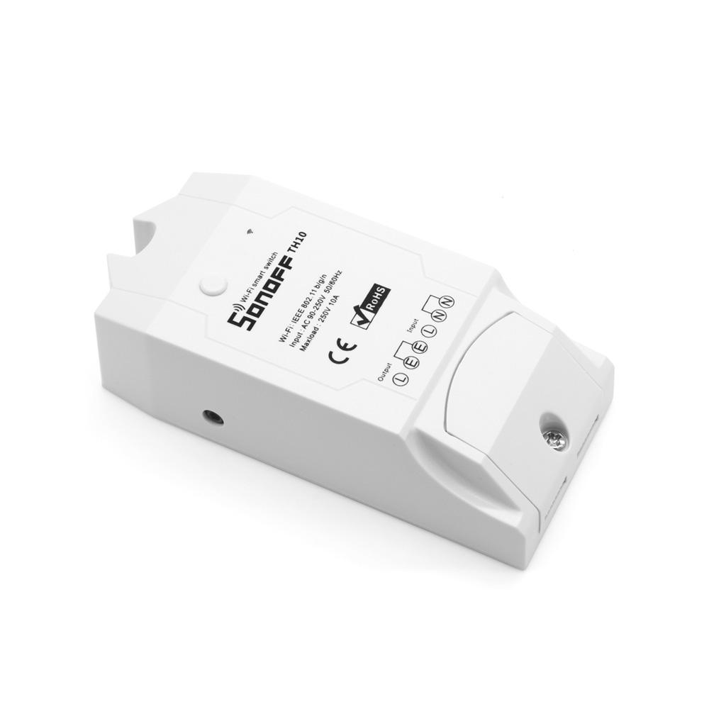 Sonoff TH10 - WiFi Schakelaar met optie voor Sensor