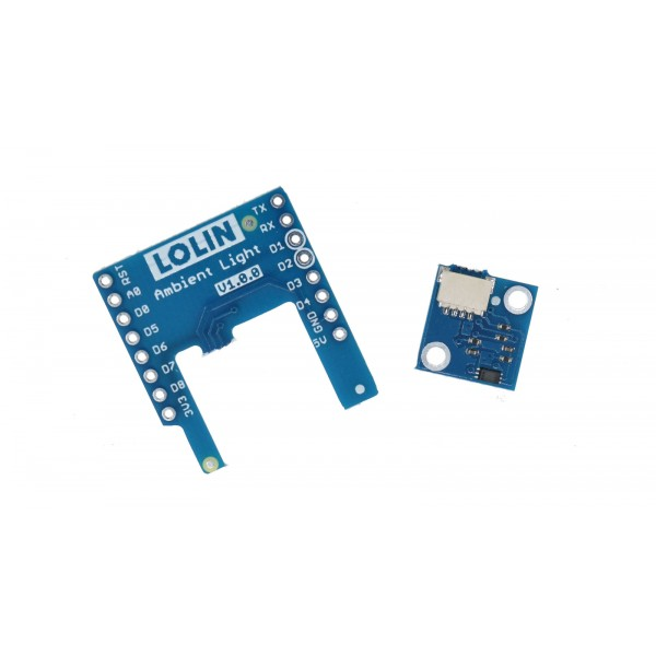 Wemos LOLIN BH1750FVI Light Sensor Shield for D1 Mini