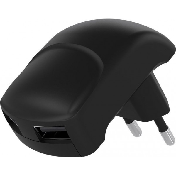 Goobay 59232 Dual USB Voeding - 5V 2.4A - Zwart
