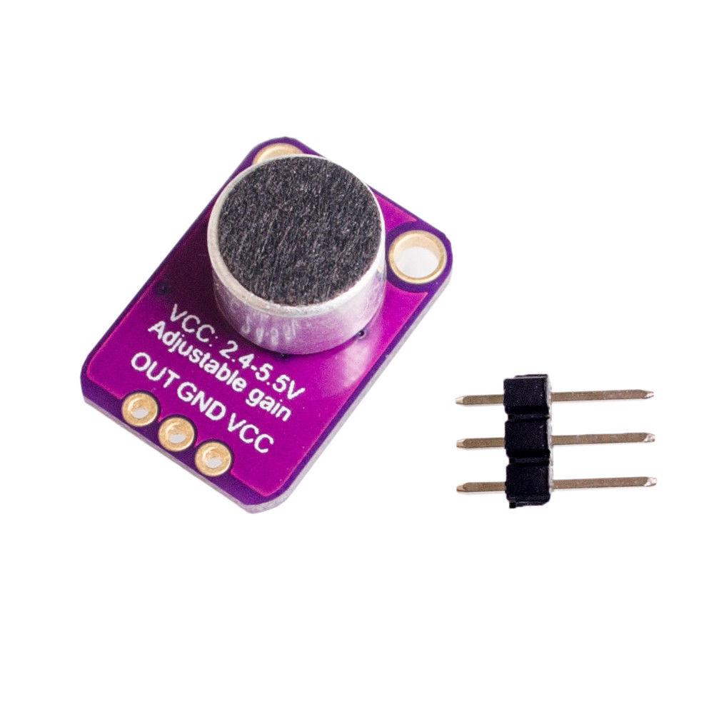 MAX4466 Microfoon Versterker Module met Microfoon