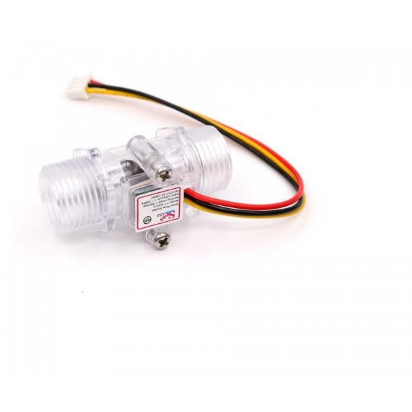 """YF-201C Water Flow Sensor - G1/2"""" Aansluiting"""