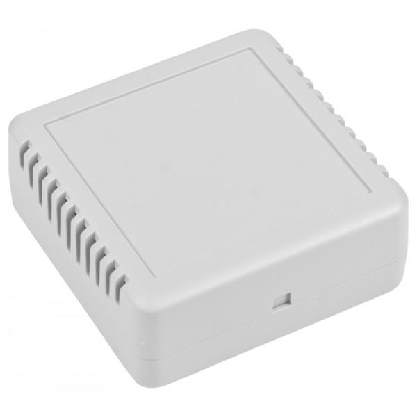 Kradex Enclosure 78x78x30mm - White - Ventilated - Z123