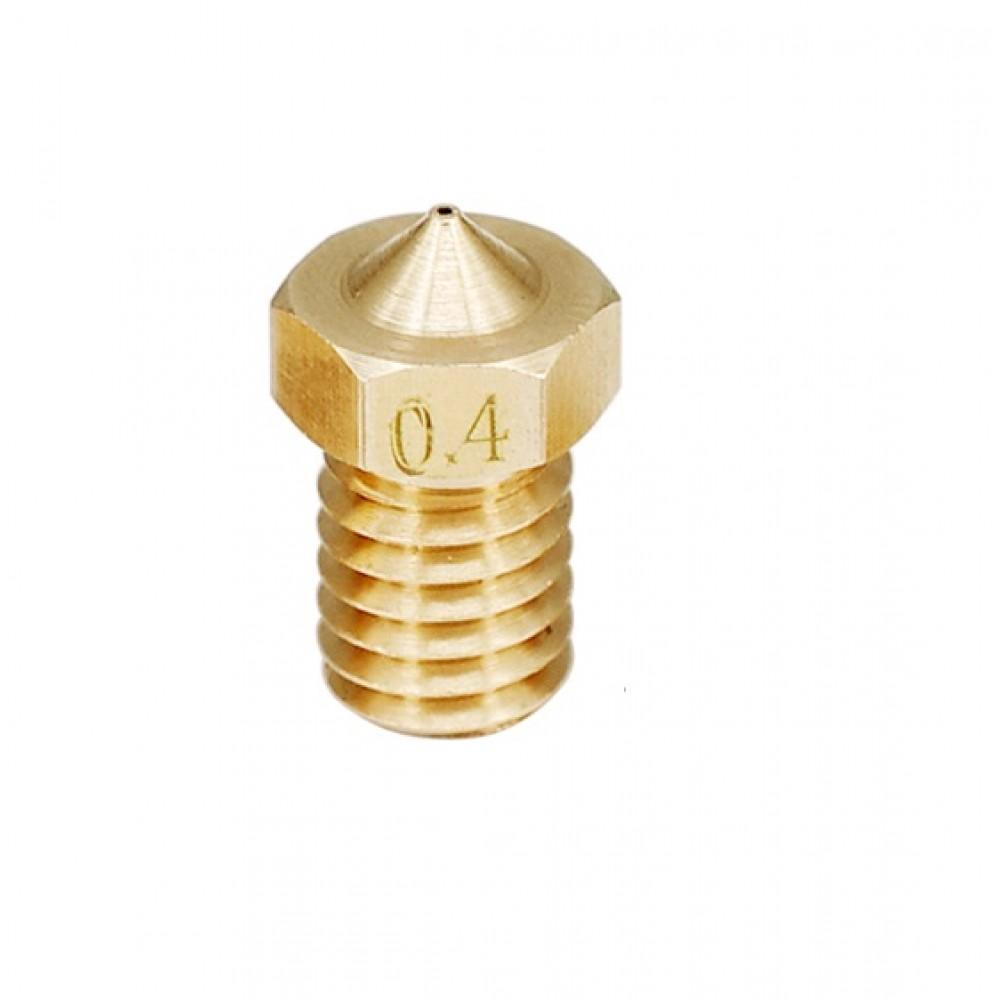 0.4mm Nozzle - E3D V5-V6 Compatible