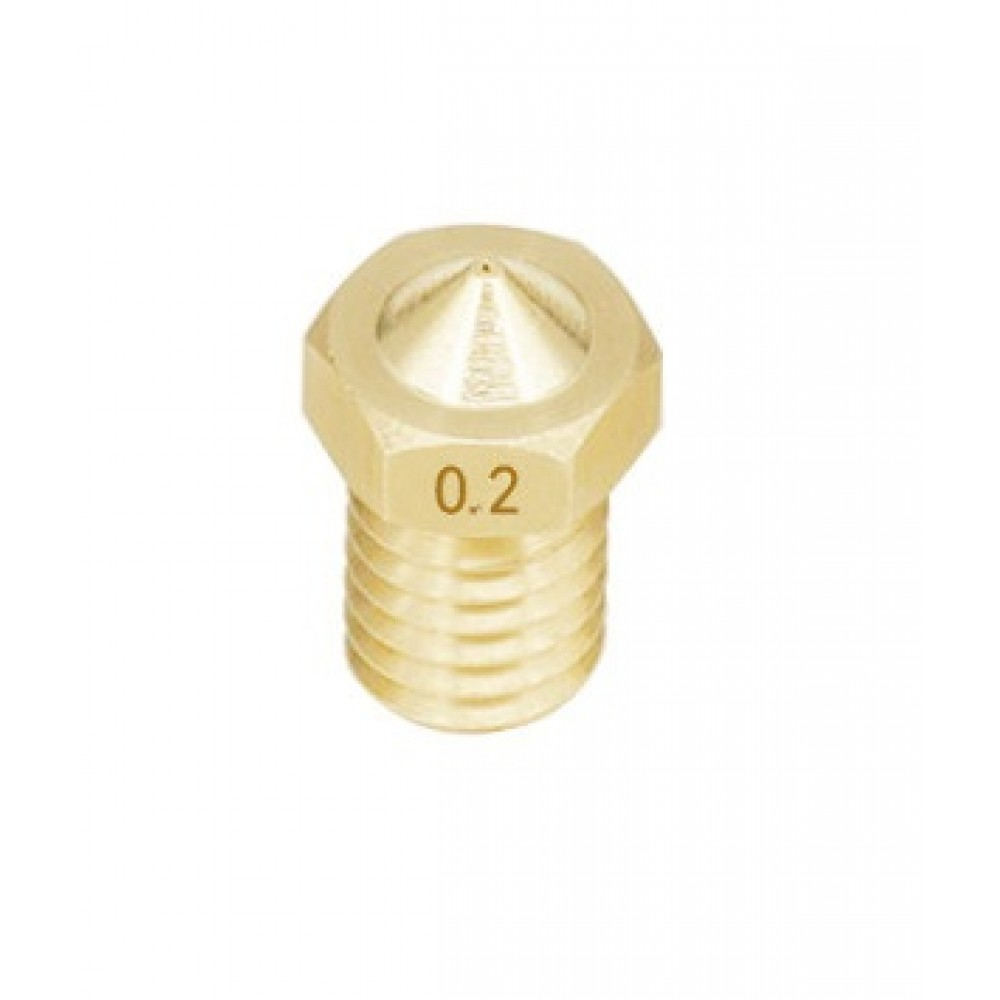 0.2mm Nozzle - E3D V5-V6 Compatible