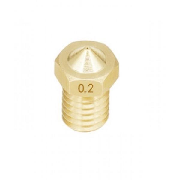 0.2mm Nozzle - E3D V5-V6 Compatible
