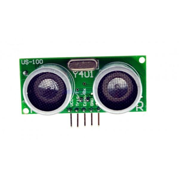 Ultrasonische Sensor - US-100 - UART - Met Temperatuursensor