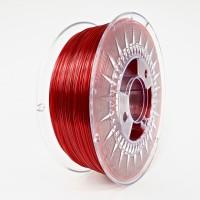 Devil Design PETG Filament 1.75mm - 1kg - Robijnrood Transparant