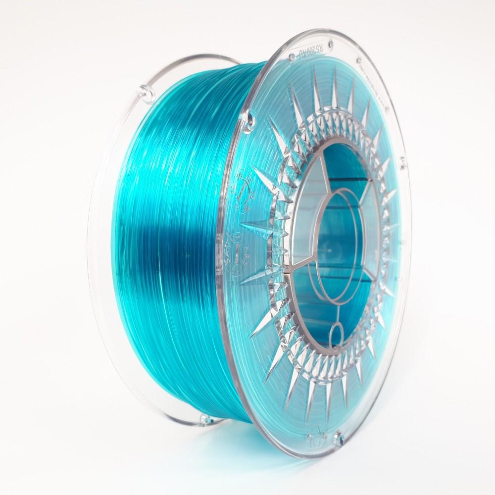 Devil Design PETG Filament 1.75mm - 1kg - Blue Transparent