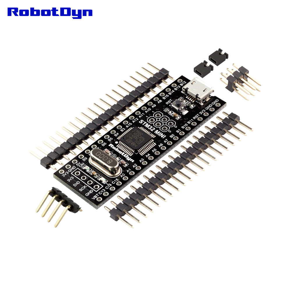 RobotDyn STM32 ARM Board (Blue Pill) with Arduino Bootloader - Loose headers