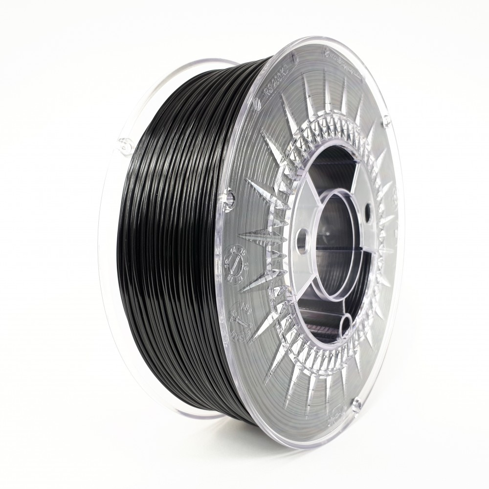 Devil Design TPU Filament 1.75mm - 1kg - Zwart