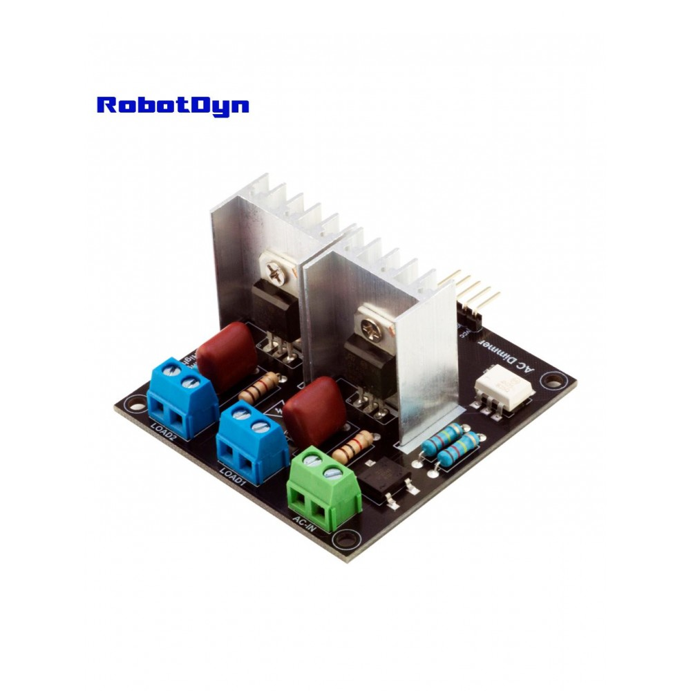 RobotDyn Thyristor AC Dimmer 3.3-5V - 2 Channel