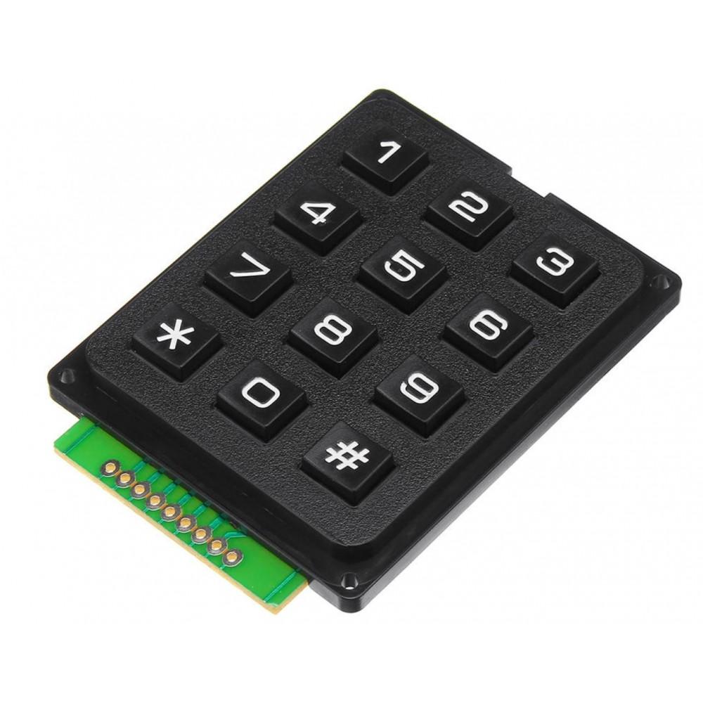 Keypad 3x4 Matrix - Membraan