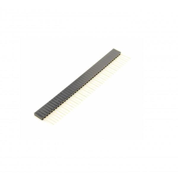 40 Pins header Female - 11mm Pin hoogte