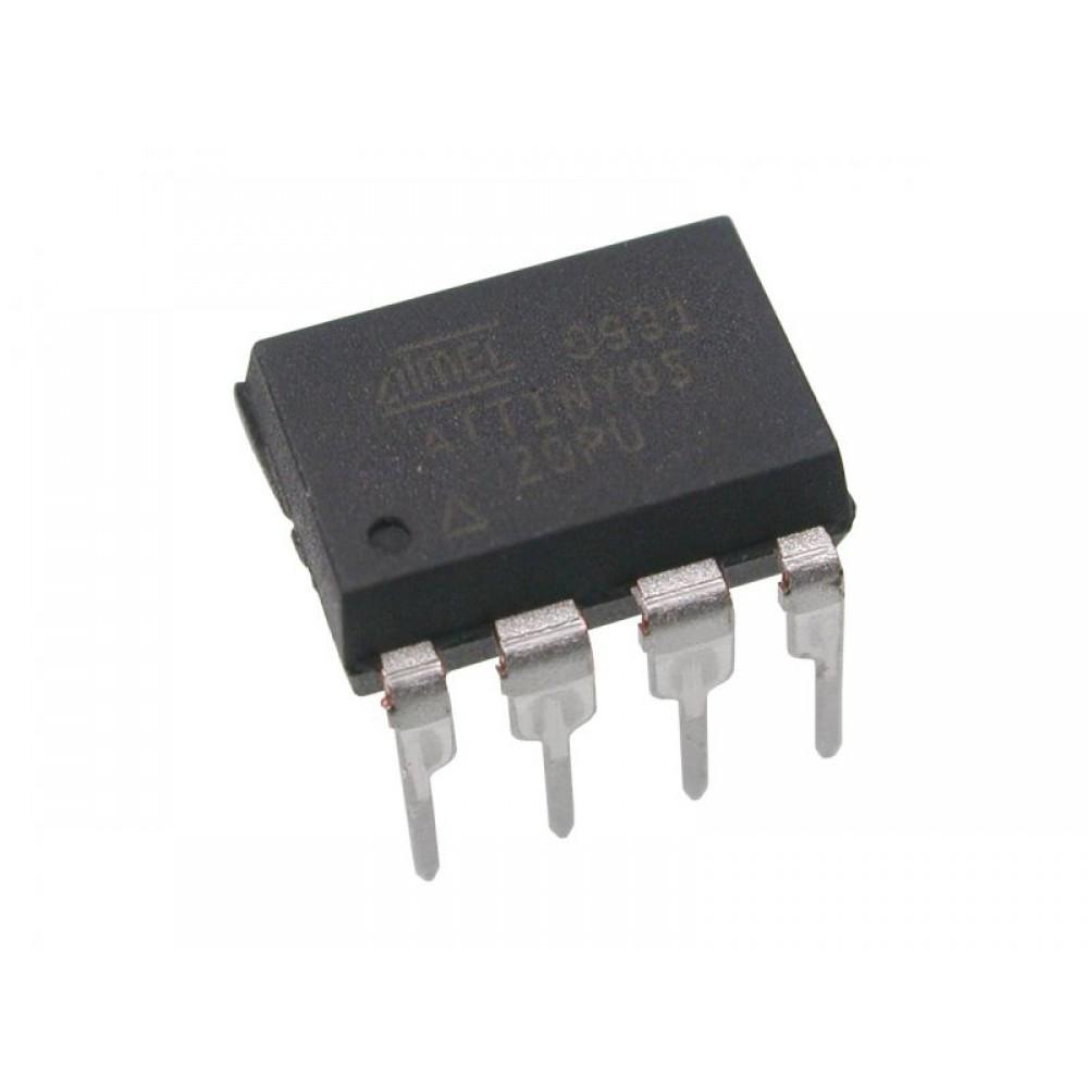 Atmel ATtiny85-20PU 8-pins DIP Microcontroller