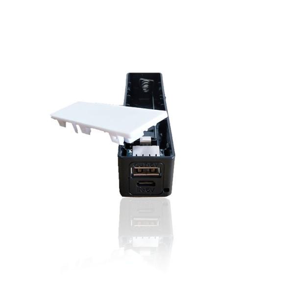 DIY USB Power Bank 1000mA - Black