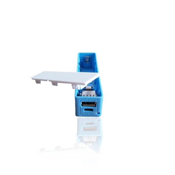 DIY USB Power Bank 1000mA - Blue