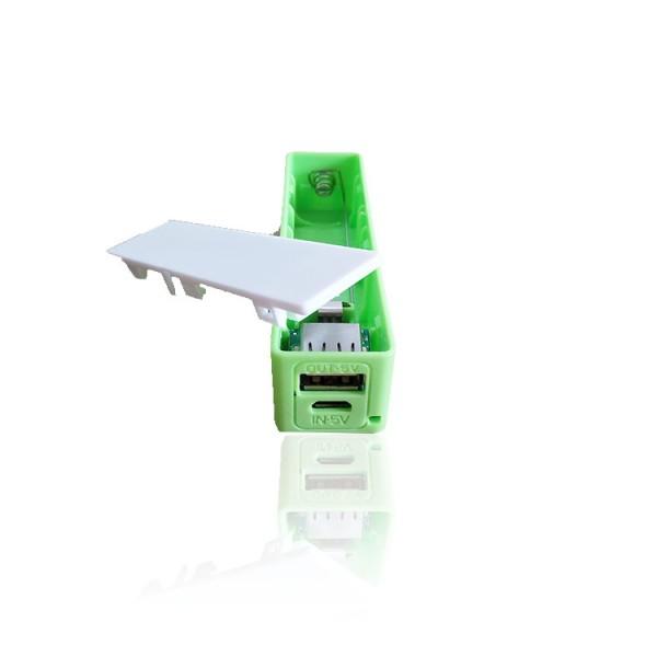 DIY USB Power Bank 1000mA - Green