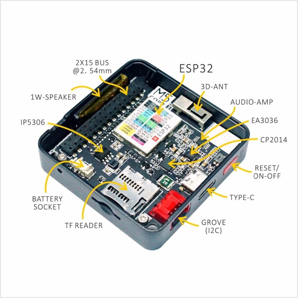 M5STACK ESP32 Basic Development Kit - M5STACKKIT
