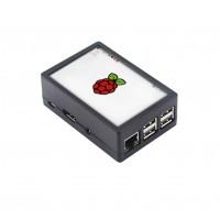 Raspberry Pi 2-3(B) Behuizing - Zwart - Optie voor 3.5 inch Display