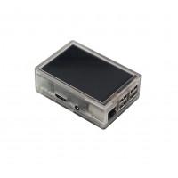 Raspberry Pi 2-3(B) Behuizing - Transparant - Optie voor 3.5 inch Display