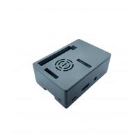 Raspberry Pi 2-3(B) Behuizing - Grijs - Optie voor 3.5 inch Display