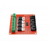 High Power MOSFET Module 5-20V 10A - 4 Kanalen