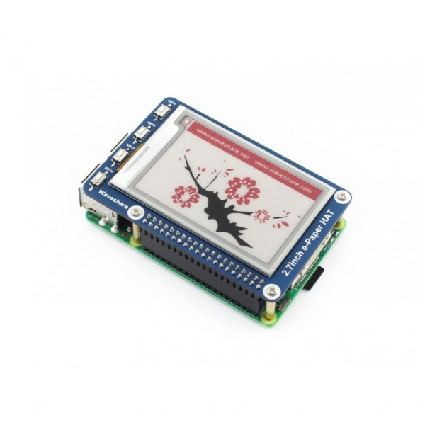 Waveshare 2.7 inch E-Ink E-Paper Display - 3 Colors