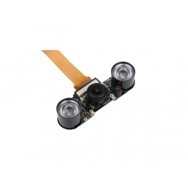Raspberry Pi Compatible Fisheye Camera 5MP met IR Verlichting