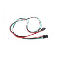 3-Pin DuPont Jumper Wire Female-Female - 70cm