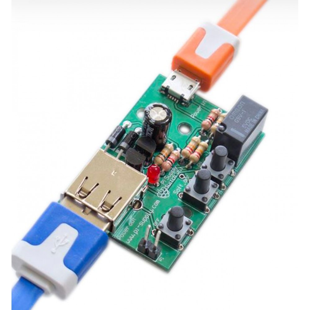 Pi Supply Raspberry Pi Supply Switch Module - DIY Kit