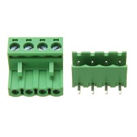 Afneembare 4 Pin Schroef Terminal Block Connector