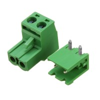 Afneembare 2 Pin Schroef Terminal Block Connector