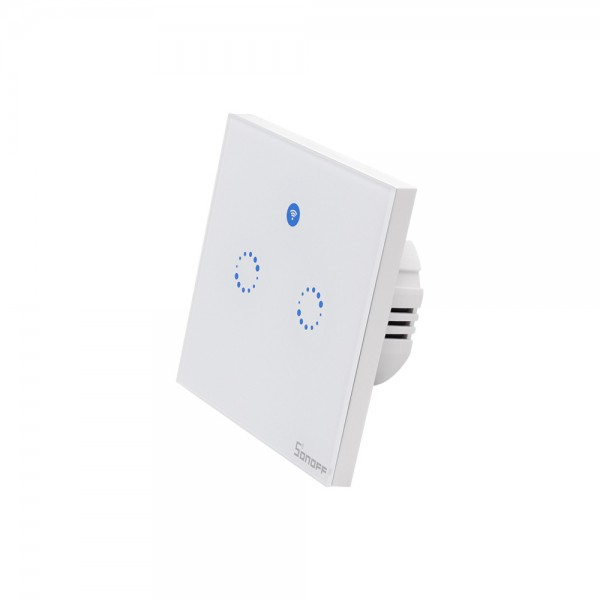 Sonoff T1 EU - 2 Switches - WiFi and 433Mhz RF