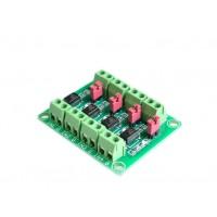 Optocoupler Isolation Module - 4 Channels